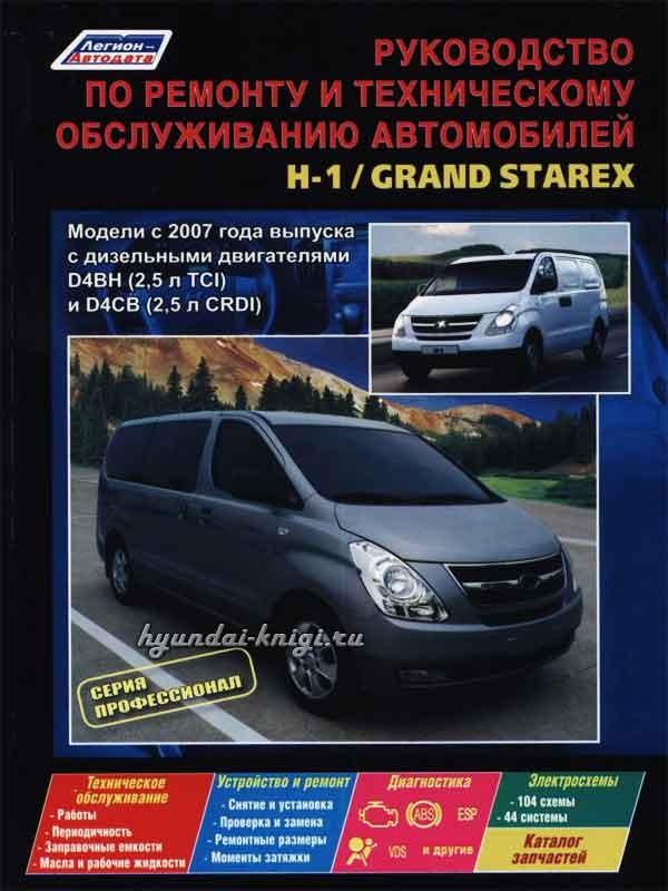 Hyundai grand starex руководство по ремонту