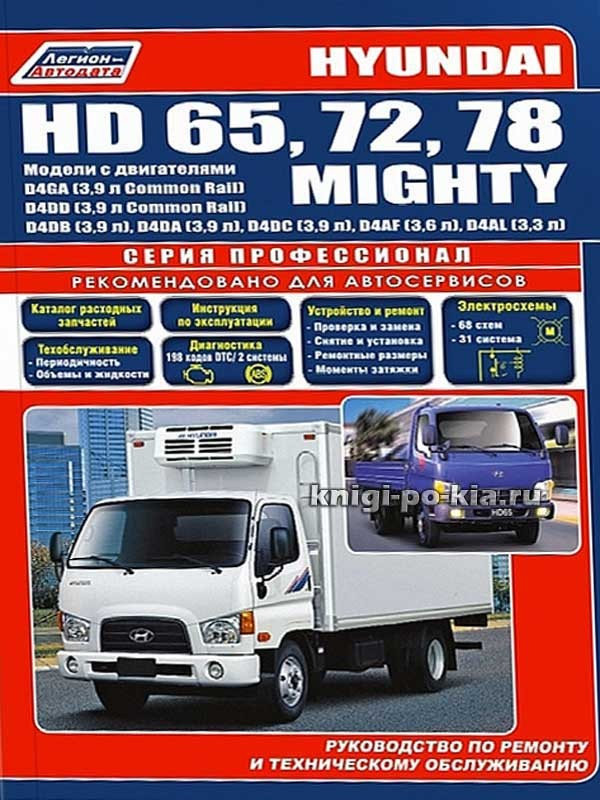 руководство по ремонту и эксплуатации hyundai hd 78 скачать бесплатно