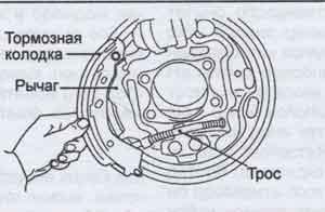 стояночный тормоз Hyundai Santa Fe