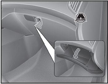 Перчаточный ящик Hyundai Creta