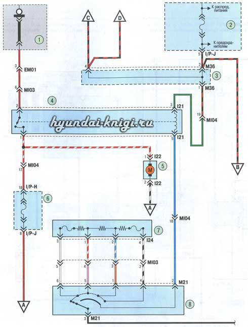 Хендай элантра 4 электрические схемы